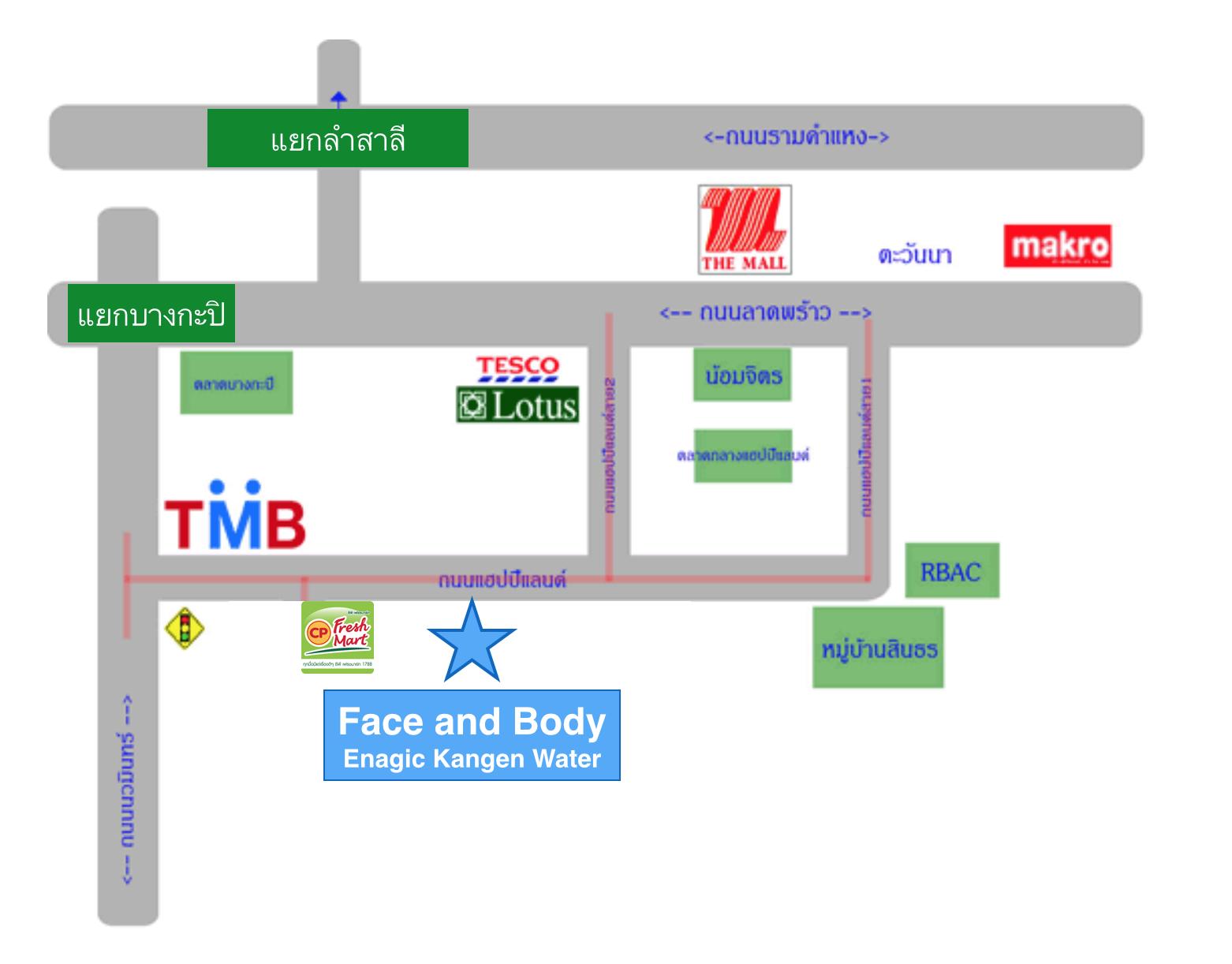 Enagic_Thailand_map