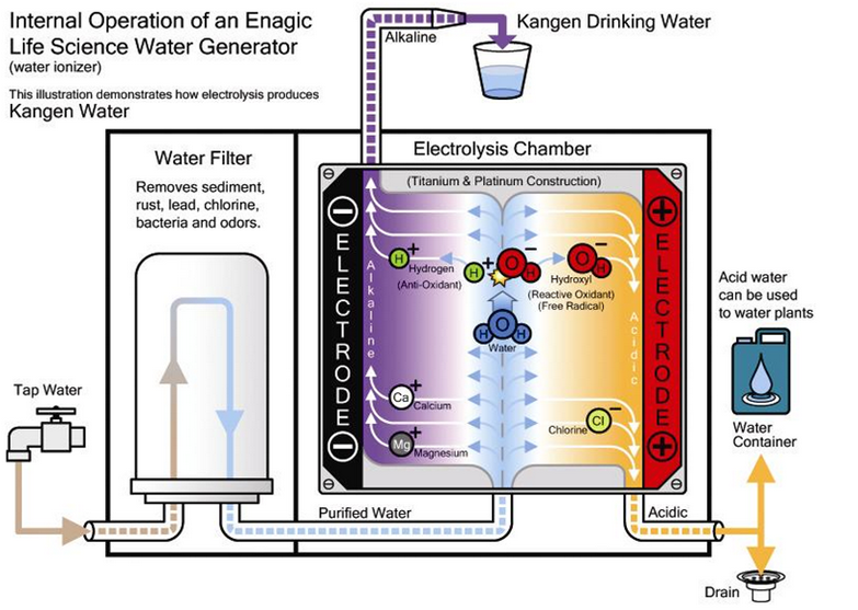 เครื่องทำน้ำด่าง Kangen